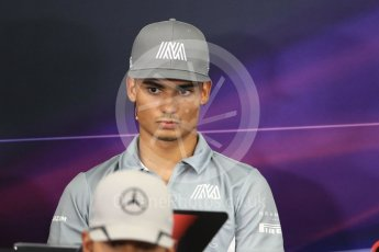 World © Octane Photographic Ltd. F1 Singapore GP FIA Driver Press Conference, Suzuka Circuit, Suzuka, Japan. Thursday 6th October 2016 Manor Racing - Pascal Wehrlein. Digital Ref : 1727LB1D3165