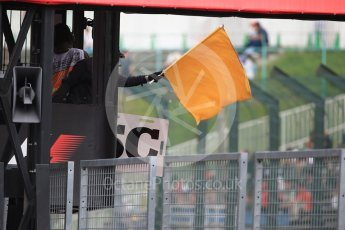 World © Octane Photographic Ltd. Practice Safety car flags. Saturday 8th October 2016, F1 Japanese GP - Practice 3, Suzuka Circuit, Suzuka, Japan. Digital Ref : 1732LB2D2664