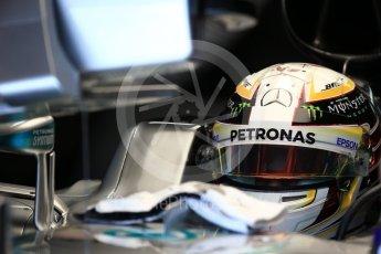 World © Octane Photographic Ltd. Mercedes AMG Petronas W07 Hybrid – Lewis Hamilton. Saturday 8th October 2016, F1 Japanese GP - Practice 3. Suzuka Circuit, Suzuka, Japan. Digital Ref : 1732LB2D2835