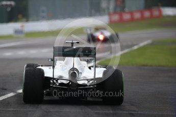 World © Octane Photographic Ltd. Mercedes AMG Petronas W07 Hybrid – Nico Rosberg. Saturday 8th October 2016, F1 Japanese GP - Practice 3. Suzuka Circuit, Suzuka, Japan. Digital Ref : 1732LB2D2865