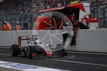 World © Octane Photographic Ltd. Haas F1 Team VF-16 – Romain Grosjean. Saturday 8th October 2016, F1 Japanese GP - Practice 3, Suzuka Circuit, Suzuka, Japan. Digital Ref : 1732LB2D3250