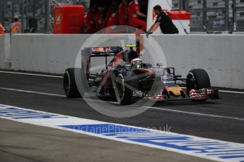 World © Octane Photographic Ltd. Scuderia Toro Rosso STR11 – Carlos Sainz. Saturday 8th October 2016, F1 Japanese GP - Practice 3, Suzuka Circuit, Suzuka, Japan. Digital Ref : 1732LB2D3329