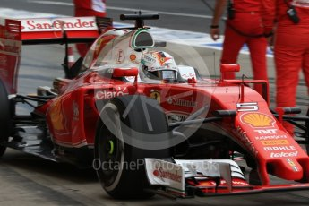 World © Octane Photographic Ltd. Scuderia Ferrari SF16-H – Sebastian Vettel. Saturday 8th October 2016, F1 Japanese GP - Practice 3, Suzuka Circuit, Suzuka, Japan. Digital Ref : 1732LB2D3403