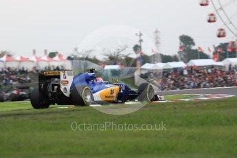 World © Octane Photographic Ltd. Sauber F1 Team C35 – Felipe Nasr. Saturday 8th October 2016, F1 Japanese GP - Qualifying, Suzuka Circuit, Suzuka, Japan. Digital Ref : 1733LB1D6608