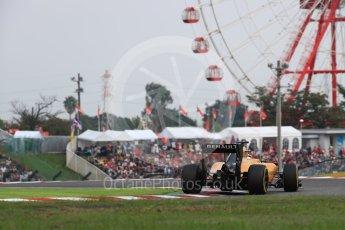 World © Octane Photographic Ltd. Renault Sport F1 Team RS16 - Kevin Magnussen. Saturday 8th October 2016, F1 Japanese GP - Qualifying, Suzuka Circuit, Suzuka, Japan. Digital Ref : 1733LB1D6673