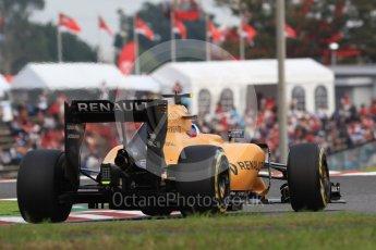 World © Octane Photographic Ltd. Renault Sport F1 Team RS16 – Jolyon Palmer. Saturday 8th October 2016, F1 Japanese GP - Qualifying, Suzuka Circuit, Suzuka, Japan. Digital Ref : 1733LB1D6726