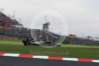 World © Octane Photographic Ltd. Sahara Force India VJM09 - Sergio Perez. Saturday 8th October 2016, F1 Japanese GP - Qualifying, Suzuka Circuit, Suzuka, Japan. Digital Ref : 1733LB2D3950