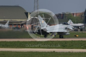 World © Octane Photographic Ltd. May 9th 2016 RAF Coningsby. Eurofighter Typhoon. Digital Ref :