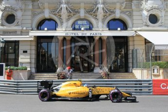 World © Octane Photographic Ltd. Renault Sport F1 Team RS16 – Jolyon Palmer. Saturday 28th May 2016, F1 Monaco GP Practice 3, Monaco, Monte Carlo. Digital Ref : 1568CB1D7960