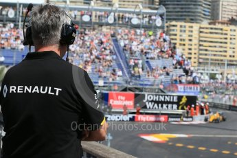 World © Octane Photographic Ltd. Renault Sport F1 Team RS16 - Kevin Magnussen. Saturday 28th May 2016, F1 Monaco GP Practice 3, Monaco, Monte Carlo. Digital Ref : 1568LB1D0001