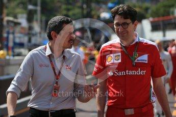 World © Octane Photographic Ltd. Haas F1 Team Team Principal - Guenther Steiner. Saturday 28th May 2016, F1 Monaco GP Practice 3, Monaco, Monte Carlo. Digital Ref : 1568LB1D9129