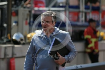 World © Octane Photographic Ltd. Manor Racing - Pat Fry. Saturday 28th May 2016, F1 Monaco GP Practice 3, Monaco, Monte Carlo. Digital Ref : 1568LB1D9155