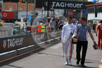 World © Octane Photographic Ltd. Manor Racing - Pascal Wehrlein. Saturday 28th May 2016, F1 Monaco GP Practice 3, Monaco, Monte Carlo. Digital Ref : 1568LB1D9163