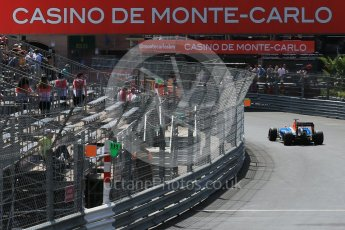 World © Octane Photographic Ltd. Manor Racing MRT05 - Pascal Wehrlein. Saturday 28th May 2016, F1 Monaco GP Practice 3, Monaco, Monte Carlo. Digital Ref : 1568LB1D9597
