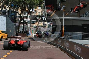 World © Octane Photographic Ltd. Scuderia Ferrari SF16-H – Kimi Raikkonen. Saturday 28th May 2016, F1 Monaco GP Practice 3, Monaco, Monte Carlo. Digital Ref : 1568LB1D9770
