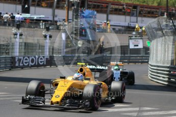 World © Octane Photographic Ltd. Renault Sport F1 Team RS16 – Jolyon Palmer. Saturday 28th May 2016, F1 Monaco GP Qualifying, Monaco, Monte Carlo. Digital Ref :