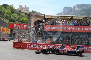 World © Octane Photographic Ltd. Scuderia Toro Rosso STR11 – Daniil Kvyat. Saturday 28th May 2016, F1 Monaco GP Qualifying, Monaco, Monte Carlo. Digital Ref : 1569CB7D2266