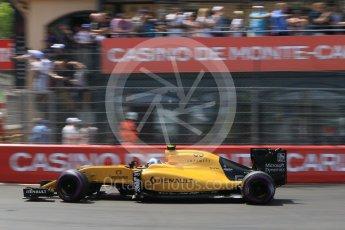 World © Octane Photographic Ltd. Renault Sport F1 Team RS16 – Jolyon Palmer. Saturday 28th May 2016, F1 Monaco GP Qualifying, Monaco, Monte Carlo. Digital Ref : 1569CB7D2318