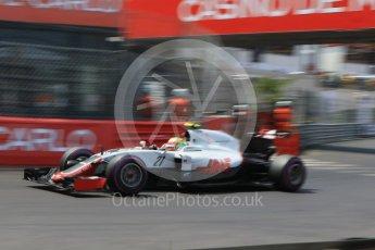 World © Octane Photographic Ltd. Haas F1 Team VF-16 - Esteban Gutierrez. Saturday 28th May 2016, F1 Monaco GP Qualifying, Monaco, Monte Carlo. Digital Ref : 1569CB7D2349