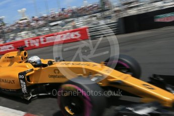 World © Octane Photographic Ltd. Renault Sport F1 Team RS16 - Kevin Magnussen. Saturday 28th May 2016, F1 Monaco GP Qualifying, Monaco, Monte Carlo. Digital Ref :