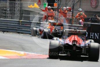 World © Octane Photographic Ltd. Red Bull Racing RB12 – Max Verstappen. Saturday 28th May 2016, F1 Monaco GP Qualifying, Monaco, Monte Carlo. Digital Ref :