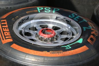 World © Octane Photographic Ltd. Red Bull Racing RB12 – Front Wheel. Wednesday 25th May 2016, F1 Monaco GP Paddock, Monaco, Monte Carlo. Digital Ref :1559CB7D9843