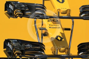 World © Octane Photographic Ltd. Renault Sport F1 Team RS16 - noses and front wings. Wednesday 25th May 2016, F1 Monaco GP Paddock, Monaco, Monte Carlo. Digital Ref : 1559CB7D9871