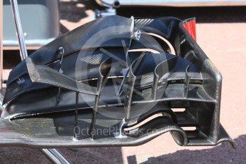World © Octane Photographic Ltd. Haas F1 Team VF-16 – front wing. Wednesday 25th May 2016, F1 Monaco GP Paddock, Monaco, Monte Carlo. Digital Ref :1559CB7D9938
