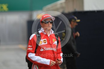 World © Octane Photographic Ltd. Scuderia Ferrari SF16-H – Kimi Raikkonen. Sunday 29th May 2016, F1 Monaco GP Paddock, Monaco, Monte Carlo. Digital Ref : 1572CB1D8823
