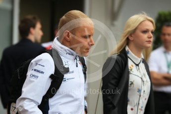 World © Octane Photographic Ltd. Williams Martini Racing, Williams Mercedes FW38 – Valtteri Bottas. Sunday 29th May 2016, F1 Monaco GP Paddock, Monaco, Monte Carlo. Digital Ref : 1572CB1D8842