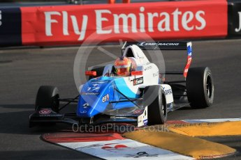 World © Octane Photographic Ltd. Friday 27th May 2015. Formula Renault 2.0 Practice, JD Motorsport - Aleksey Korneev – Monaco, Monte-Carlo. Digital Ref :1565CB1D7589