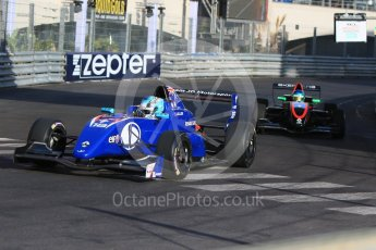 World © Octane Photographic Ltd. Friday 27th May 2015. Formula Renault 2.0 Practice, JD Motorsport – James Allen and Fortec Motorsports – Bruno Baptista – Monaco, Monte-Carlo. Digital Ref :1565CB7D1112