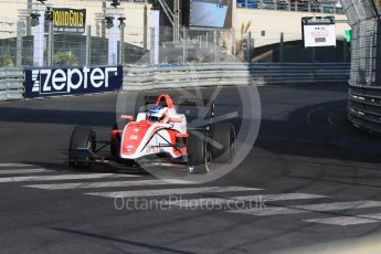 World © Octane Photographic Ltd. Friday 27th May 2015. Formula Renault 2.0 Practice, Fortec Motorsports – Vasily Romanov – Monaco, Monte-Carlo. Digital Ref :1565CB7D1131
