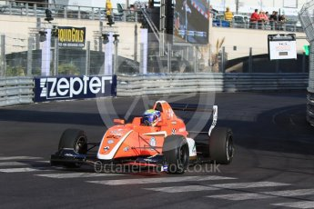 World © Octane Photographic Ltd. Friday 27th May 2015. Formula Renault 2.0 Practice, AVF by Adrian Valles – Harrison Scott– Monaco, Monte-Carlo. Digital Ref :1565CB7D1150