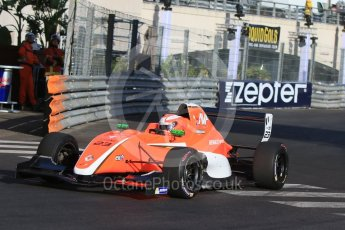 World © Octane Photographic Ltd. Friday 27th May 2015. Formula Renault 2.0 Practice, AVF by Adrian Valles – Nikita Mazepin – Monaco, Monte-Carlo. Digital Ref :1565CB7D1161