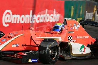World © Octane Photographic Ltd. Friday 27th May 2015. Formula Renault 2.0 Practice, AVF by Adrian Valles – Harrison Scott– Monaco, Monte-Carlo. Digital Ref :1565LB1D8065