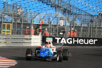 World © Octane Photographic Ltd. Friday 27th May 2015. Formula Renault 2.0 Practice, JD Motorsport - Aleksey Korneev – Monaco, Monte-Carlo. Digital Ref :1565LB1D8071
