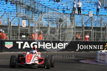 World © Octane Photographic Ltd. Friday 27th May 2015. Formula Renault 2.0 Practice, Fortec Motorsports – Vasily Romanov – Monaco, Monte-Carlo. Digital Ref :1565LB1D8128