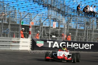 World © Octane Photographic Ltd. Friday 27th May 2015. Formula Renault 2.0 Practice, Cram Motorsport – Henrique Chaves – Monaco, Monte-Carlo. Digital Ref :1565LB1D8224