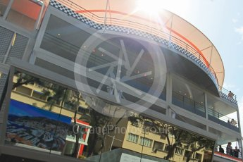 World © Octane Photographic Ltd. The New Race Control building. Friday 27th May 2016, GP2 Race 1, Monaco, Monte Carlo. Digital Ref :1566CB1D7683