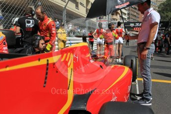 World © Octane Photographic Ltd. Racing Engineering - GP2/11 – Norman Nato on the grid in 2nd posititon. Friday 27th May 2016, GP2 Race 1, Monaco, Monte Carlo. Digital Ref :1566CB1D7775