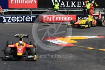 World © Octane Photographic Ltd. Racing Engineering - GP2/11 – Jordan King and Pertamina Campos Racing – Mitch Evans. Friday 27th May 2016, GP2 Race 1, Monaco, Monte Carlo. Digital Ref :1566CB7D1501