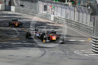 World © Octane Photographic Ltd. Racing Engineering - GP2/11 – Norman Nato and ART Grand Prix – Sergey Sirotkin. Friday 27th May 2016, GP2 Race 1, Monaco, Monte Carlo. Digital Ref :1566LB5D7955