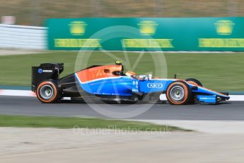 World © Octane Photographic Ltd. Manor Racing MRT05 – Rio Haryanto. Friday 13th May 2016, F1 Spanish GP - Practice 1, Circuit de Barcelona Catalunya, Spain. Digital Ref : 1536CB1D7230