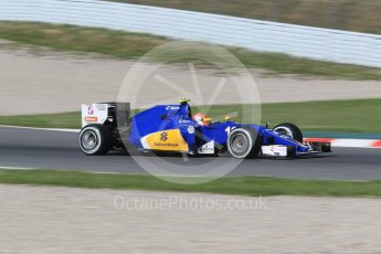 World © Octane Photographic Ltd. Sauber F1 Team C35 – Felipe Nasr. Friday 13th May 2016, F1 Spanish GP - Practice 1, Circuit de Barcelona Catalunya, Spain. Digital Ref : 1536CB1D7259
