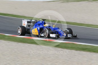 World © Octane Photographic Ltd. Sauber F1 Team C35 – Marcus Ericsson. Friday 13th May 2016, F1 Spanish GP - Practice 1, Circuit de Barcelona Catalunya, Spain. Digital Ref : 1536CB1D7325