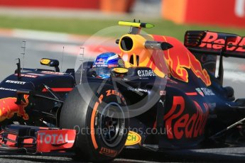 World © Octane Photographic Ltd. Red Bull Racing RB12 – Max Verstappen. Friday 13th May 2016, F1 Spanish GP - Practice 1, Circuit de Barcelona Catalunya, Spain. Digital Ref : 1536LB1D3975