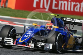 World © Octane Photographic Ltd. Sauber F1 Team C35 – Felipe Nasr. Friday 13th May 2016, F1 Spanish GP - Practice 1, Circuit de Barcelona Catalunya, Spain. Digital Ref : 1536LB1D4164