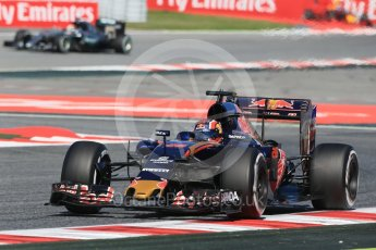 World © Octane Photographic Ltd. Scuderia Toro Rosso STR11 – Daniil Kvyat. Friday 13th May 2016, F1 Spanish GP - Practice 1, Circuit de Barcelona Catalunya, Spain. Digital Ref : 1536LB1D4677