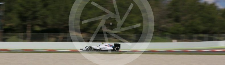 World © Octane Photographic Ltd. Williams Martini Racing, Williams Mercedes FW38 – Valtteri Bottas. Friday 13th May 2016, F1 Spanish GP - Practice 1, Circuit de Barcelona Catalunya, Spain. Digital Ref : 1536LB5D3395